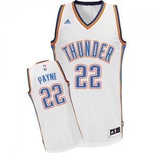 Oklahoma City Thunder #22 Adidas Home Blanc Swingman Maillot d'équipe de NBA prix d'usine en ligne - Cameron Payne pour Homme