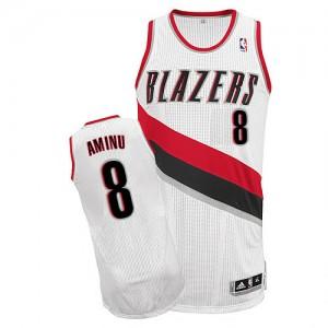 Portland Trail Blazers Al-Farouq Aminu #8 Home Authentic Maillot d'équipe de NBA - Blanc pour Homme