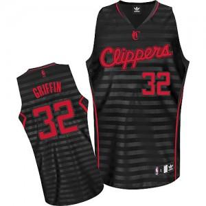 Los Angeles Clippers Blake Griffin #32 Groove Authentic Maillot d'équipe de NBA - Gris noir pour Homme