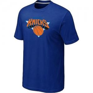T-shirt principal de logo New York Knicks NBA Big & Tall Bleu - Homme