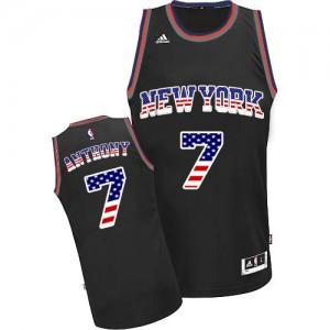Maillot NBA Swingman Carmelo Anthony #7 New York Knicks USA Flag Fashion Noir - Homme