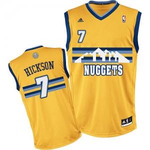 Maillot NBA Denver Nuggets #7 JJ Hickson Or Adidas Swingman Alternate - Homme