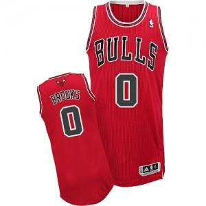 Chicago Bulls #0 Adidas Road Rouge Authentic Maillot d'équipe de NBA préférentiel - Aaron Brooks pour Homme