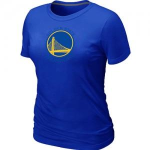 Golden State Warriors Big & Tall Bleu Tee-Shirt d'équipe de NBA Prix d'usine - pour Femme