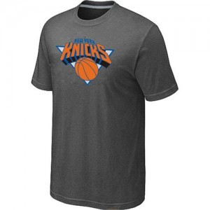 Tee-Shirt NBA New York Knicks Gris foncé Big & Tall - Homme