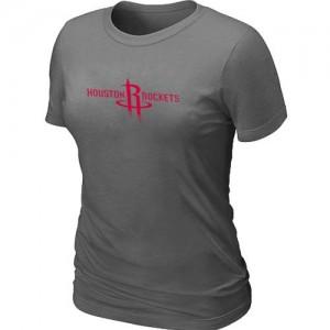 T-shirt principal de logo Houston Rockets NBA Big & Tall Gris foncé - Femme