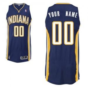 Maillot Indiana Pacers NBA Road Bleu marin - Personnalisé Authentic - Enfants