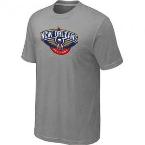 New Orleans Pelicans Big & Tall Tee-Shirt d'équipe de NBA - Gris pour Homme