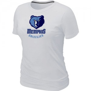 Tee-Shirt NBA Memphis Grizzlies Blanc Big & Tall - Femme