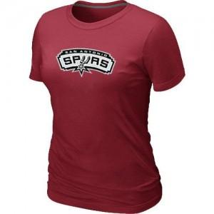 T-shirt principal de logo San Antonio Spurs NBA Big & Tall Rouge - Femme