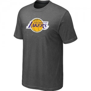 Tee-Shirt Gris foncé Big & Tall Los Angeles Lakers - Homme