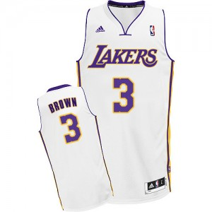 Maillot Swingman Los Angeles Lakers NBA Alternate Blanc - #3 Anthony Brown - Homme