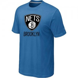 Tee-Shirt Bleu clair Big & Tall Brooklyn Nets - Homme