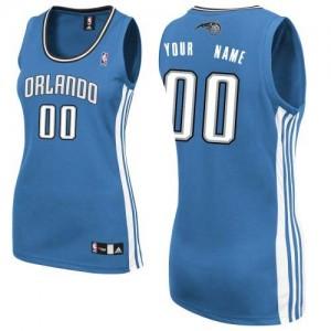 Maillot Orlando Magic NBA Road Bleu royal - Personnalisé Authentic - Femme