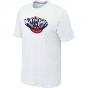 Tee-Shirt Blanc Big & Tall New Orleans Pelicans - Homme