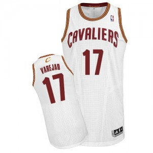 Maillot Authentic Cleveland Cavaliers NBA Home Blanc - #17 Anderson Varejao - Homme