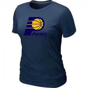 Indiana Pacers Big & Tall Tee-Shirt d'équipe de NBA - Marine pour Femme