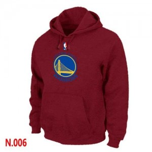 Sweat à capuche NBA Rouge Golden State Warriors Homme