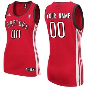Toronto Raptors Personnalisé Adidas Road Rouge Maillot d'équipe de NBA Prix d'usine - Swingman pour Femme