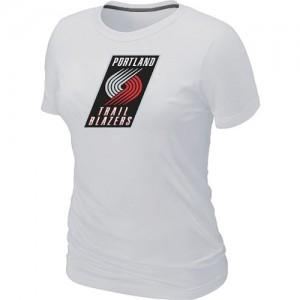 Portland Trail Blazers Big & Tall Blanc Tee-Shirt d'équipe de NBA vente en ligne - pour Femme