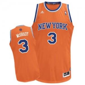 Maillot NBA Swingman Tracy McGrady #3 New York Knicks Alternate Orange - Homme