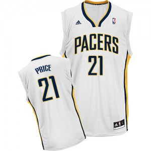 Maillot Swingman Indiana Pacers NBA Home Blanc - #21 A.J. Price - Homme