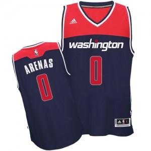 Maillot NBA Authentic Gilbert Arenas #0 Washington Wizards Alternate Bleu marin - Homme