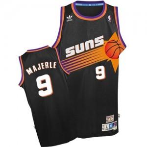 Phoenix Suns #9 Adidas Throwback Noir Authentic Maillot d'équipe de NBA Le meilleur cadeau - Dan Majerle pour Homme