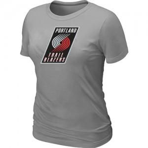 Tee-Shirt Gris Big & Tall Portland Trail Blazers - Femme
