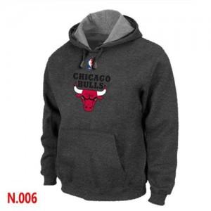 Pullover Sweat à capuche Chicago Bulls NBA Noir - Homme