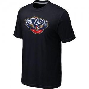 New Orleans Pelicans Big & Tall Noir Tee-Shirt d'équipe de NBA Magasin d'usine - pour Homme