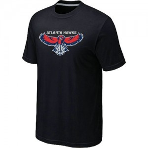 Tee-Shirt NBA Atlanta Hawks Noir Big & Tall - Homme