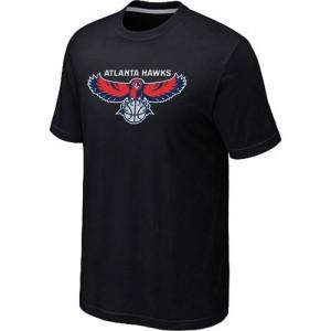 Tee-Shirt NBA Atlanta Hawks Noir Big & Tall - Homme