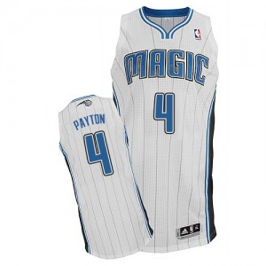 Maillot NBA Blanc Elfrid Payton #4 Orlando Magic Home Authentic Homme Adidas
