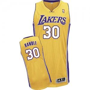 Los Angeles Lakers Julius Randle #30 Home Authentic Maillot d'équipe de NBA - Or pour Homme
