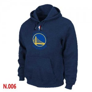 Sweat à capuche NBA Marine Golden State Warriors Homme