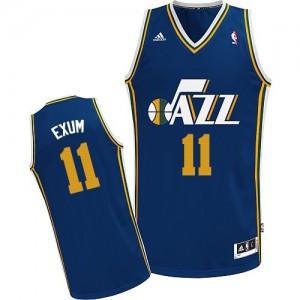 Maillot Swingman Utah Jazz NBA Road Bleu marin - #11 Dante Exum - Homme