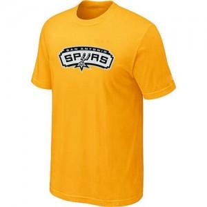 San Antonio Spurs Big & Tall Tee-Shirt d'équipe de NBA - Jaune pour Homme