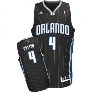 Maillot Adidas Noir Alternate Swingman Orlando Magic - Elfrid Payton #4 - Homme