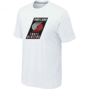 Tee-Shirt NBA Blanc Portland Trail Blazers Big & Tall Homme