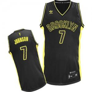 Maillot NBA Swingman Joe Johnson #7 Brooklyn Nets Electricity Fashion Noir - Homme