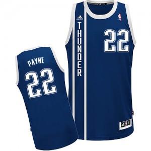 Oklahoma City Thunder Cameron Payne #22 Alternate Swingman Maillot d'équipe de NBA - Bleu marin pour Homme