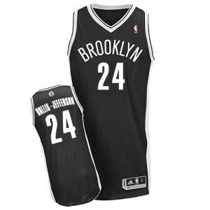 Brooklyn Nets #24 Adidas Road Noir Authentic Maillot d'équipe de NBA en ligne - Rondae Hollis-Jefferson pour Homme