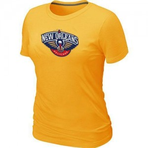 Tee-Shirt NBA New Orleans Pelicans Jaune Big & Tall - Femme