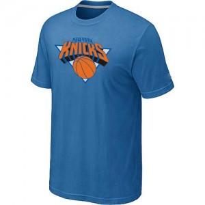 New York Knicks Big & Tall Tee-Shirt d'équipe de NBA - Bleu clair pour Homme