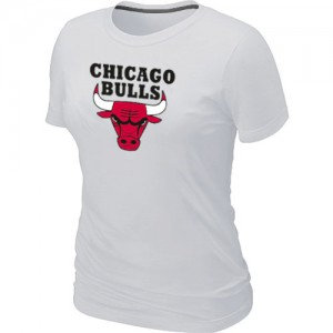 Tee-Shirt NBA Chicago Bulls Big & Tall Blanc - Femme