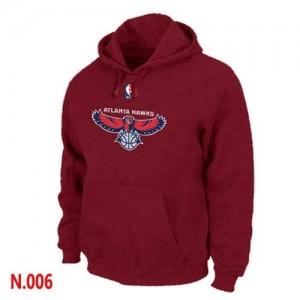 Atlanta Hawks Rouge Sweat à capuche d'équipe de NBA préférentiel - pour Homme