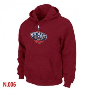 Sweat à capuche NBA Rouge New Orleans Pelicans Homme