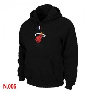 Pullover Sweat à capuche Miami Heat NBA Noir - Homme