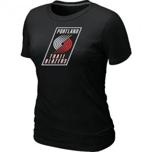 Tee-Shirt NBA Portland Trail Blazers Big & Tall Noir - Femme
